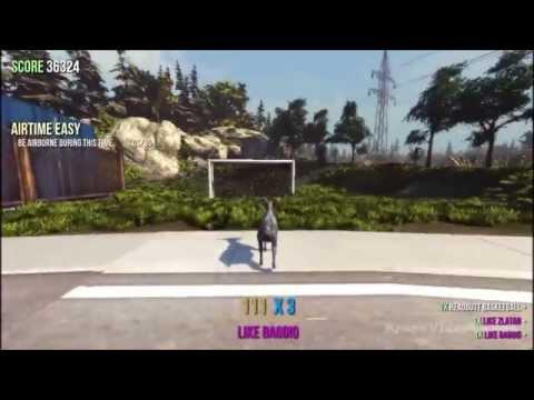 геймплей Goat Simulator