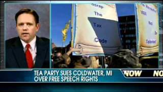 Coldwater (MI) United States  city images : Tea Party Sues Coldwater, Michigan Over Free Speech Rights