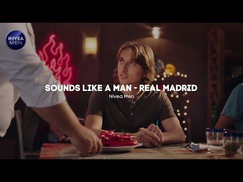 SOUNDS LIKE A MAN - Real Madrid (Spot Tv 2016) - Nivea Men