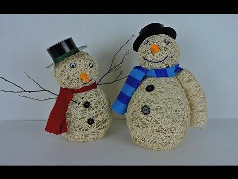 fai da te - originalissimo pupazzo di neve