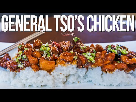The Best Homemade General Tso's Chicken | SAM THE COOKING GUY 4K