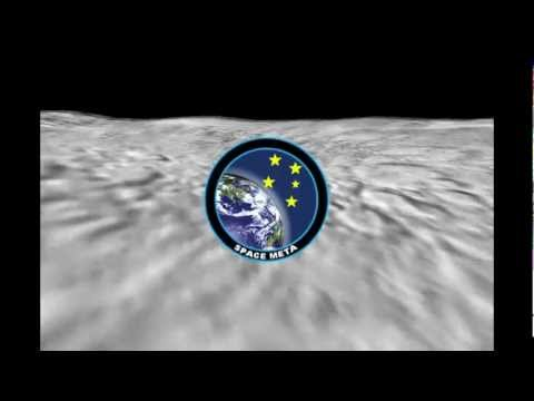 SpaceMETA Moon Fly Simulation