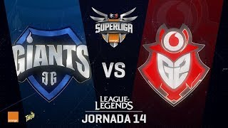 SUPERLIGA ORANGE - GIANTS VS G2 VODAFONE- Mapa 1 - #SUPERLIGAORANGELOL14