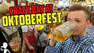 Munich Germany  city pictures gallery : A Crazy Day At Oktoberfest In Munich (Germany) | The Wiesn Diaries | Episode 1