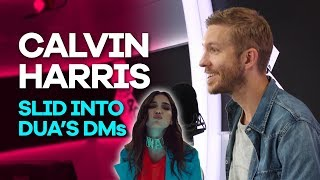 Video Calvin Harris slid into Dua Lipa's DMs and she totally ignored him MP3, 3GP, MP4, WEBM, AVI, FLV Mei 2018