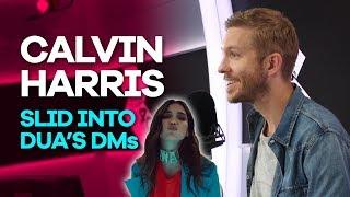 Video Calvin Harris slid into Dua Lipa's DMs and she totally ignored him MP3, 3GP, MP4, WEBM, AVI, FLV Juli 2018