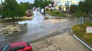 Перекрёсток в Щёлкино, 03.06.2014 - time-lapse с камеры 2