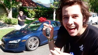 Jason surprises me with a brand new car! Liza and I talk about how fake we are! I bring everyone over to my new home! Alex and I move in together once again!BUY THE NEW CARMELITA MERCH: https://fanjoy.co/collections/david-dobrik WATCH MY NEW HOUSE TOUR HERE: https://www.youtube.com/watch?v=C4yECzFCdZk&t=26s  THANK YOU FOR THE AUDI! SUBSCRIBE TO THEM HERE: https://www.youtube.com/channel/UCuD64859jtSBVnO-Uufp8ogGO SUBSCRIBE TO OUR NEW PODCAST: https://itunes.apple.com/us/podcast/views-with-david-dobrik-and-jason-nash/id1236778275?mt=2 Comment how much you love our bunny if you read thisADD ME ON SNAPCHAT TO BE INVITED TO OUR HOUSE NEXT: @DavidDobrikThanks for watching :) Throww it a like if you like throwing stuff!Turn my notifications on these to be the next shoutout!!Twitter: @DavidDobrikInstagram: @DavidDobrikSnapchat: @DavidDobrikVine: @DavidDobrikMusically: @DavidDobrikBusiness email: daviddobrikbusiness@gmail.comOther people in the video:Liza- Twitter; @lizakoshy Instagram; @lizakoshy Snapchat; @lizakoshysnapsJosh Peck- Instagram: @shuapeck Twitter: @Itsjoshpeck Snapchat: @joshuapeckSeth - @whois_sethJack Dytrych: Twitter: @BigJuicyJack Instagram: jdytrych22Cailee: Twitter/Instagram: @CaileeRaeMusicCorinna- Twitter/Instagram: @CorinnaKopfJason Nash- Twitter and Instagram; @JasonNashBignik- Twitter: @BigNik Instagram: @RealBigNik Snapchat; @BignikVineHeath- Twitter; @HeathHussar Instagram; @HeathHussar Snapchat; @HeathHussarAlex Ernst- Twitter; @AlexErnst Instagram; @Ernst Snapchat; @AlexErnstThe Gabbie Show- Twitter; @TheGabbieShow Instagram; @TheGabbieShow Snapchat; @TheGabbieShowZane- Twitter; @Zane Instagram; @Zane Snapchat; @ZaneHijaziScottysire- Twitter; @imnotscottysire Instagram; @VanillaDingDongToddysmith- Twitter; @todderic_ Instagram; @todderic_Dom: Twitter/Instagram: @DurteDomLindsey: @lindseygrollJulia Abner- Instagram; @JuliaAbnerCarly incontro- Twitter/Instagram: @CarlyIncontroMatt King - Twitter/Instagram/Snapchat: @MattRKingErin Gilfoy- Twitter and Instagram: goddess_eriu Snapchat: erin_gilfoyDom: Twitter/Instagram: @DurteDomElton Castee- Twitter; @EltonCastee, Instagram; @EltonCasteeBrandon Calvillo- Twitter; @BJCalvillo Instagram; @BJCalvillo Snapchat; @BJCalvilloMeghan McCarthy- Twitter: @MeghanWMcCarthyJcyrus snapchat: @Jcyrusvine