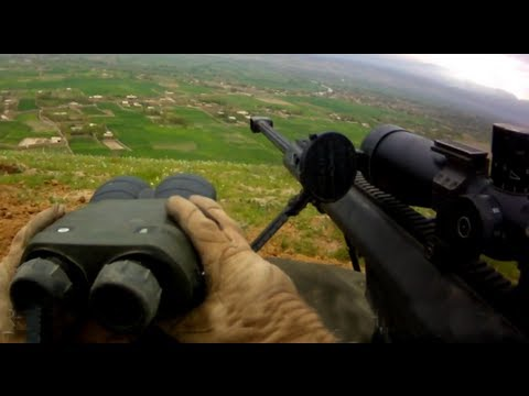 Sniper - More combat footage not on YouTube at FUNKER530.com - http://vid.io/xGB Bala Murghab River Valley, Afghanistan - The Bala Murghab River Valley has been a Tal...