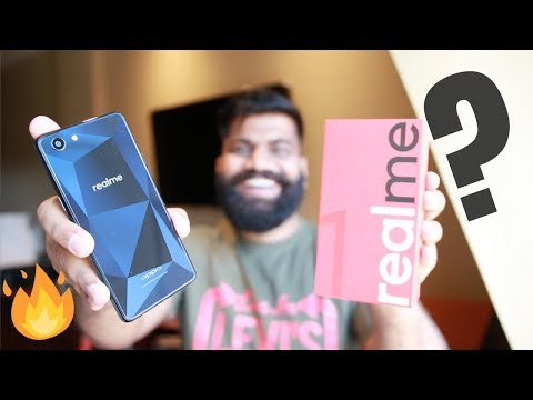 OPPO RealMe 1 Unboxing and First Look - The New Xiaomi Killer🔥