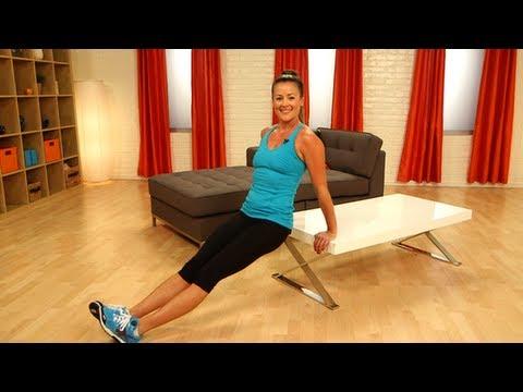 Γυμναστική μπροστά στην tv!