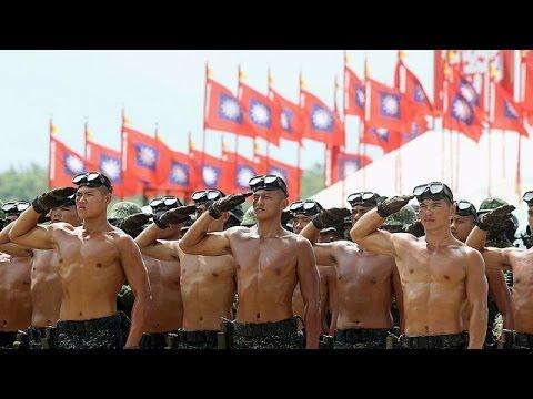 Η Ταϊβάν «θυμάται» τον Β' παγκόσμιο πόλεμο