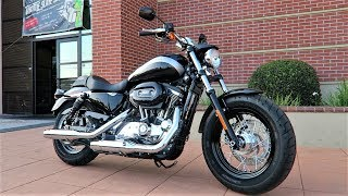 8. 2018 Harley-Davidson Sportster 1200 Custom (XL1200C)│Test Ride and Full Review