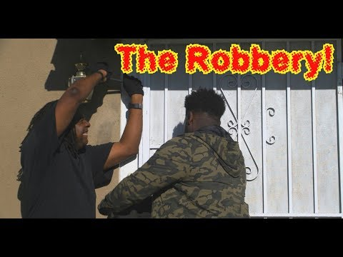 The Robbery! 😂COMEDY😂 (David Spates)