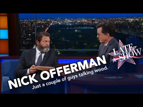 Nick Offerman Knows His Wood