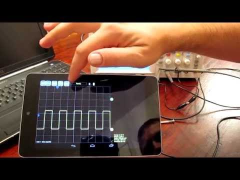 Video of AR-Oscilloscope