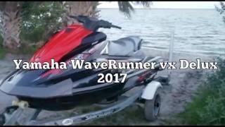 4. new Yamaha WaveRunner VX Deluxe 2017