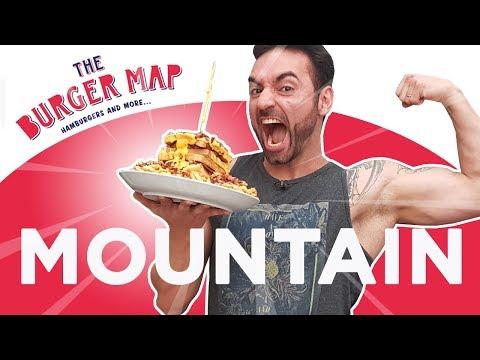 Desafio #35 - The Burger Map Mountain [+Reportagem TV Record]