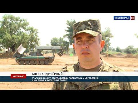 Александр Чёрный, старший офицер отдела боевой подготовки и управления, начальник инженерных войск