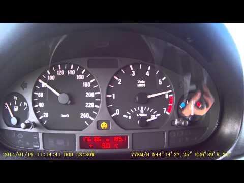 BMW E46 316i 0-100