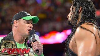 Nonton John Cena confronts Roman Reigns: Raw, July 14, 2014 Film Subtitle Indonesia Streaming Movie Download