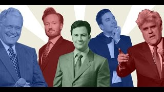A brief history and highlights of The War for Late Night, as well as a tribute to Johnny Carson and David Letterman, whose contributions to American television transformed comedy for the better.