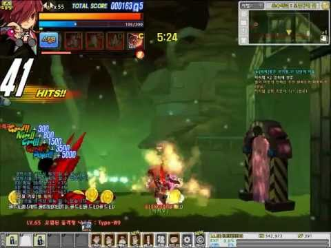 Elsword Rune Slayer 4-x hell(Altera secret dungeon)[Korea]