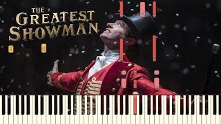 "Video The Greatest Showman - ""From Now On"" [Piano Tutorial] (Synthesia) MP3, 3GP, MP4, WEBM, AVI, FLV Januari 2018"