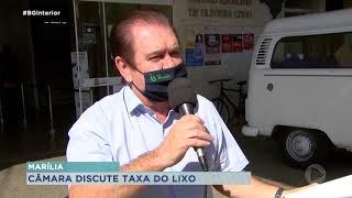 Cobrança de taxa de lixo levanta discussões em Marília
