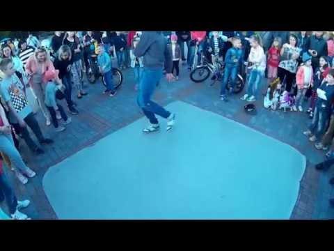 Як рівняни вуличні танці танцювали