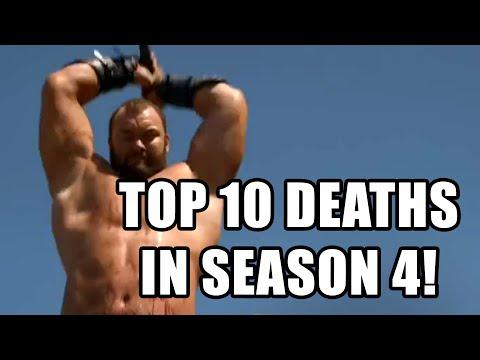 GAME OF THRONES Top 10 Deaths in Season 4