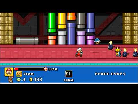 Super Mario Brawl ! (free fan game)