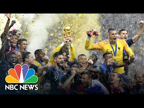 Paris Erupts In Celebration After World Cup Win | NBC News