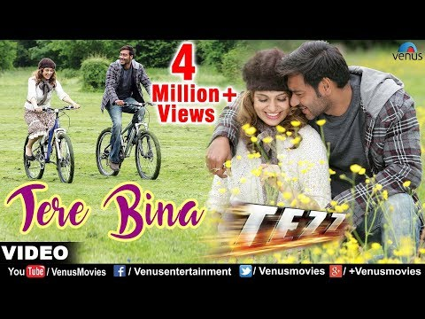 Tere Bina Full Video Song | Tezz | Ajay Devgan & Kangna Ranaut | Rahat Fateh Ali Khan
