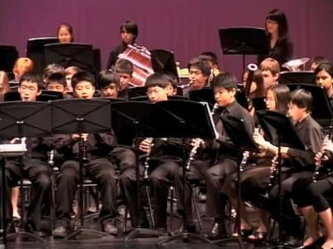 Singapore American School- MS Advanced Band- Earl of Oxford's March