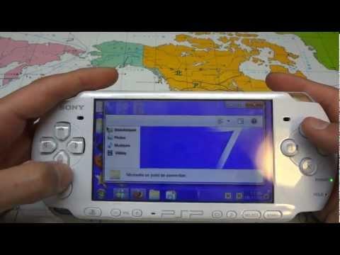 PSPにWindows7風のアプリを入れる方法