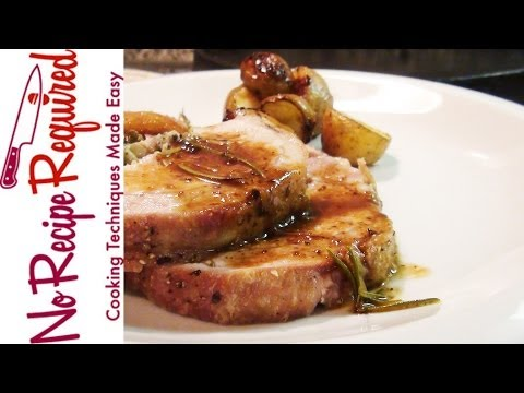 Video Recipe: Garlic Infused Oven Roasted Pork Loin with Roasted Carrots and Potatoes