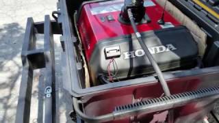 4. Installed a Remote Start and Extended Fuel Tank On My Honda EU3000is Generator