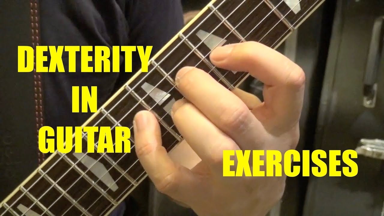 Guitar Dexterity Exercises, Tim Pierce, Spider Exercises, Shine on You Crazy Diamond and Contest