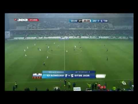 REAL BETIS 2 - 1 VALENCIA C.F. 4 minutos mágicos (Liga 2011/12. Jornada 16) (10/12/2011) (видео)
