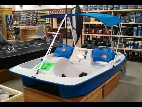 Sun Dolphin Sun Slider - 5 Person Pedal Boat Review