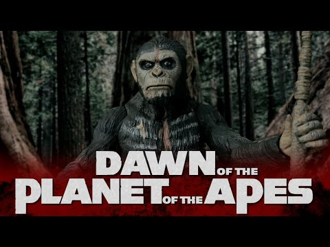 DAWN OF THE PLANET OF THE APES  (Stop Motion)