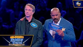 Video Tony Hawk and Son Play Fast Money - Celebrity Family Feud MP3, 3GP, MP4, WEBM, AVI, FLV Desember 2018
