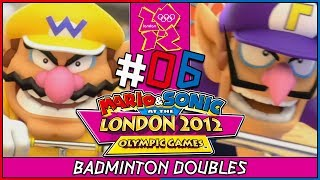 Mario & Sonic at the London 2012 Olympic Games 2 player coop gameplay for Nintendo Wii. In part 6, we take on the Badminton Doubles Event with Wario and Waluigi. So many athletics events to go through and so many gold medals waiting for us to win them. GET HYPED! ►New to the Channel? Subscribe! :D http://bit.ly/1PCzTc0 ►Make sure to smash that LIKE button and let us know what content you would like to see! :]►Hey there awesome viewer. We'd like to thank you so much for taking the time to check out our video/content. Don't forget to SMASH that like button if you enjoyed it and if not, feel free to drop us a comment down below and let us know what we can do. We are constantly improving and feedback would mean a whole lot. :] Thank you very much! ^-^►Don't forget to Subscribe and become part of the DarkLightAcadamia. We always welcome new brothers and sisters to the group and you'd be letting us know that we're creating something special. :D►Mario and Sonic at the London 2012 Olympic Games is the 3rd entry in the Mario and Sonic Olympics series released for Nintendo 3DS and Nintendo Wii. We'll face many familiar events and some new ones in this one.Feel the HYPE and follow us on:►Twitter: https://twitter.com/DarkLight_Bros ◄►Facebook: https://www.facebook.com/DarkLightBros/ ◄►Deviantart: http://darklightbros.deviantart.com/ ◄Mario and Sonic is owned By Nintendo and SegaThis video is owned by the DARKLIGHTBROS, unless images/music specified in above description.Footage recorded for fair use and intended for educational purposes, the fun and diversity of the games characters good sportsmanship involved with the olympic games.~DarkLightBros~#MarioandSonic #NintendoWii #Wii #Olympics
