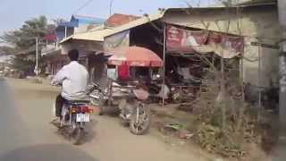 Ta Khmao Cambodia  City new picture : Travel in Cambodia from Takhmao Town to Takeo Province on Sunday