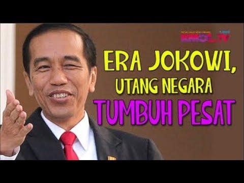 Era Jokowi, Utang Negara Tumbuh Pesat