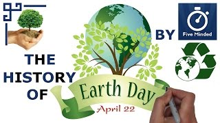 This is my animated narration on the history of Earth Day.Earth Day is celebrated worldwide on April 22nd every year and was created to save our planet's environment and raise public awareness about pollution. Kids BOOK about Earth Day here: http://amzn.to/2mC5LUuAdults BOOK about Earth Day here: http://amzn.to/2mvCSsT** CONNECT WITH ME **Facebook: https://www.facebook.com/5ivemindedTwitter: https://twitter.com/fivemindedPatreon: http://patreon.com/fivemindedWhiteboard Software I use to make my Videos: http://www.sparkol.com?aid=983244Thanks for watching, Please LIKE and SUBSCRIBE if you like my videos.THANKS!!