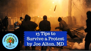 Peaceful protests can turn into riots suddenly. If you find yourself in a crowd that becomes violent, knowing how to escape and be safe is prudent. Hosted by Joe Alton, MD of https://www.doomandbloom.net/https://store.doomandbloom.net/https://www.facebook.com/doomandbloom/https://twitter.com/preppershow