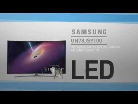 SAMSUNG UN78JS9100 ( JS9100 ) 9-Series Curved 4K SUHD Smart TV