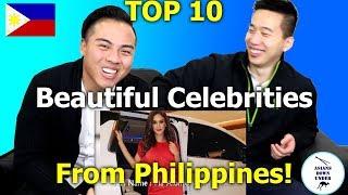 Video Top 10 Most Beautiful Celebrities In Philippines   Asian Australians - Reaction MP3, 3GP, MP4, WEBM, AVI, FLV Agustus 2019